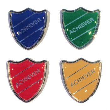 ACHIEVER shield badge